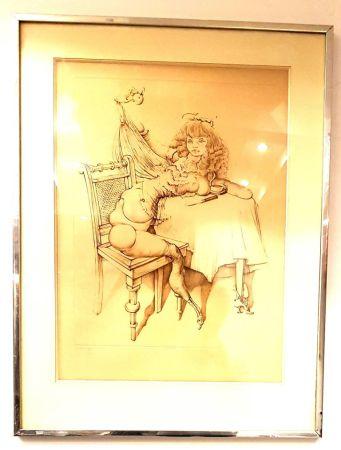 リトグラフ Bellmer - Femme