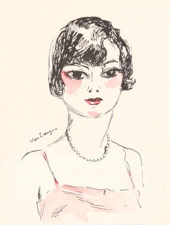 リトグラフ Van Dongen - Femme- Salon D'Automne, 11929