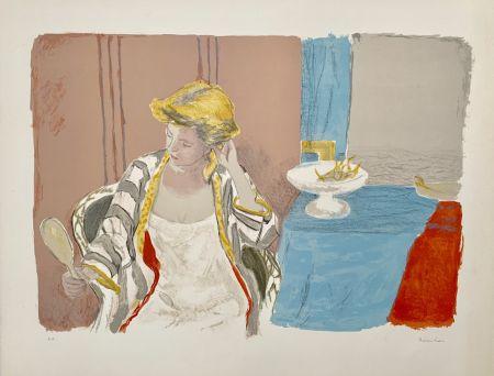 リトグラフ Brianchon - Femme a sa Toilette