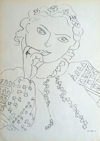 オフセット Matisse - Femme Accoudee