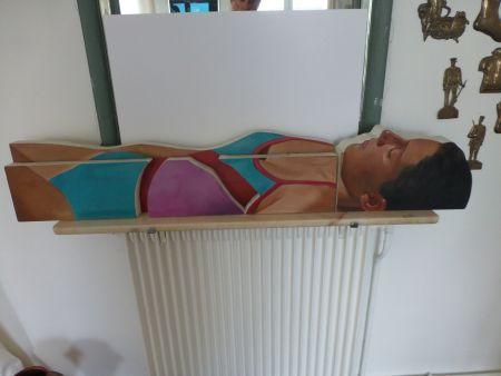 技術的なありません Maddox - Femme allongée en maillot une pièce