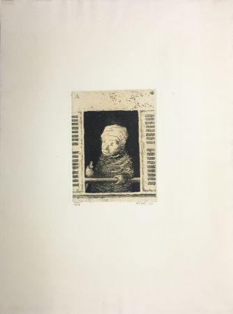 アクチアント Avati - Femme de ménage à la fenêtre (1951)