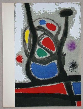 ステンシル Miró - Femme II