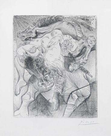 彫版 Picasso - Femme Torero Ii