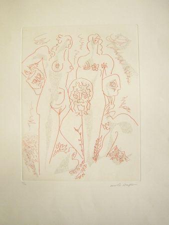 彫版 Masson - Femmes aux masques