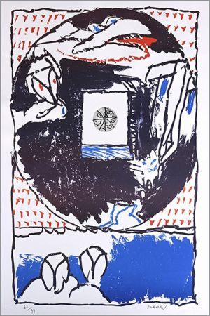 リトグラフ Alechinsky - Fenêtre