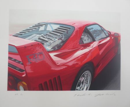 リトグラフ Yoshida - Ferrari 250 GT0 64