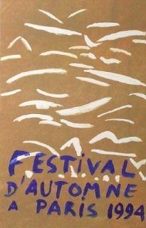 リトグラフ Aillaud - Festival automne