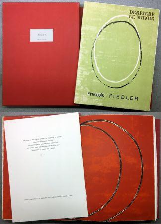 挿絵入り本 Fiedler - FIEDLER. DERRIÈRE LE MIROIR N°167. Octobre 1967. TIRAGE DE LUXE.