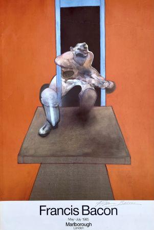 オフセット Bacon - Figure in Movement HANDSIGNED