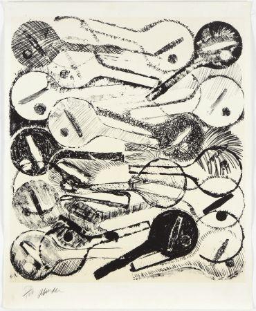 リトグラフ Arman - Filtres À Air, 1969