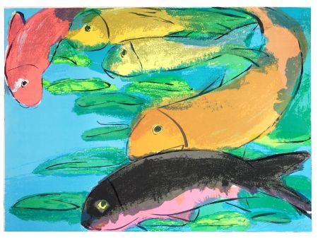 リトグラフ Ting - Fish