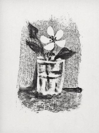 リトグラフ Picasso - Fleurs Dans Un Verre #6
