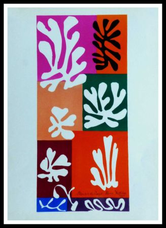リトグラフ Matisse (After) - FLEURS DE NEIGNE