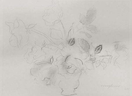 リトグラフ Dufy - «Fleurs II»