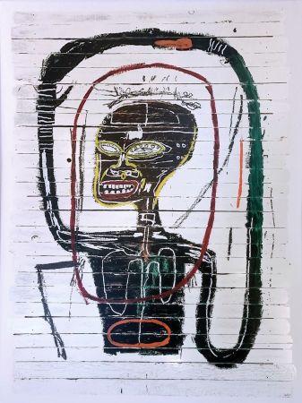 シルクスクリーン Basquiat - FLEXIBLE