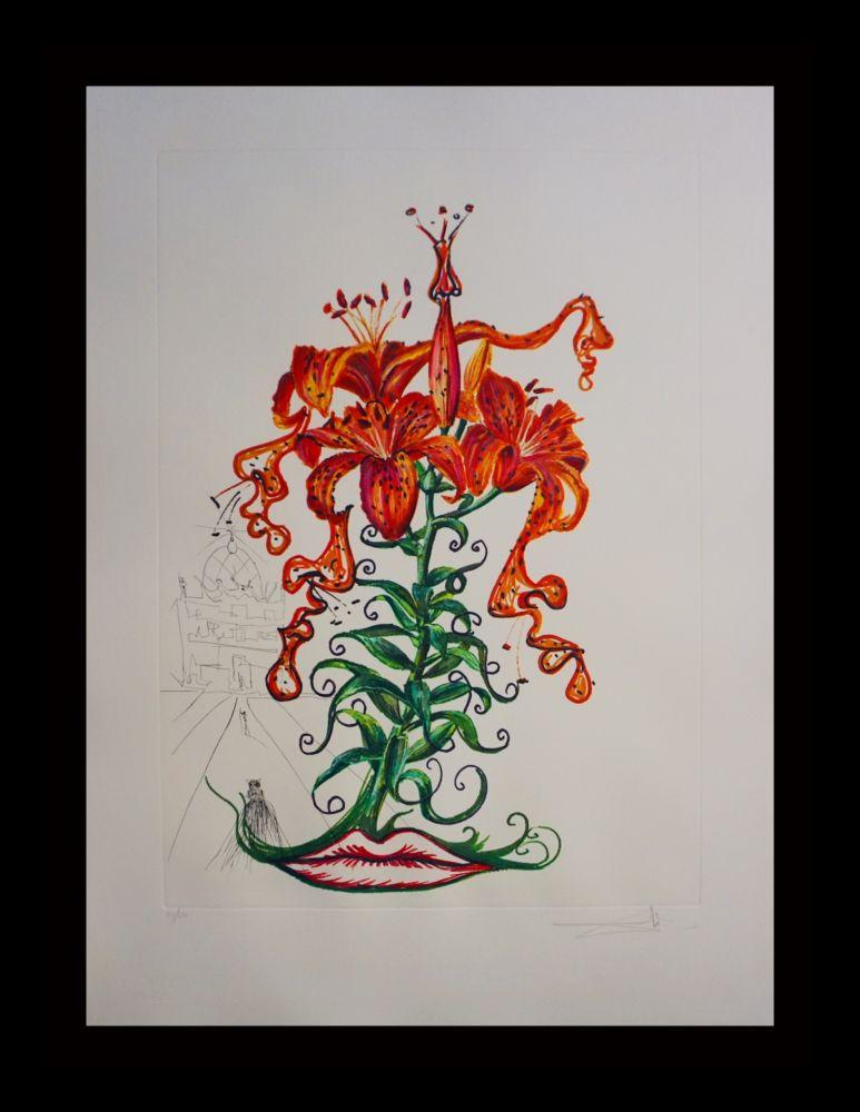 彫版 Dali - Florals Tiger Lilies