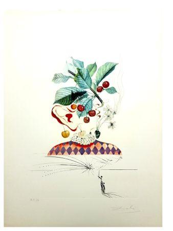 リトグラフ Dali - Flordali - Cerises