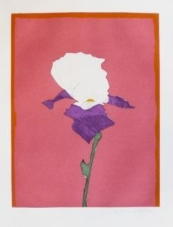 彫版 Scholder - Flower at Giverney 1