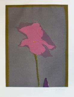 彫版 Scholder - Flower at Giverney 2