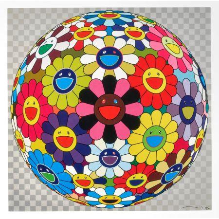 リトグラフ Murakami - Flower Ball (Kindergarten Days)