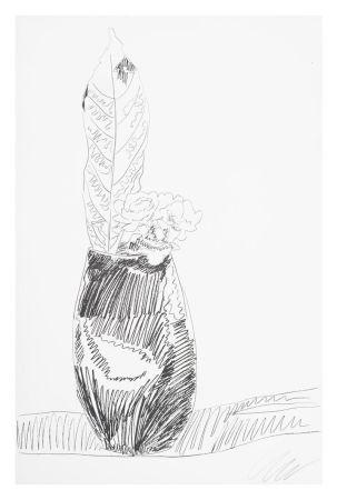 シルクスクリーン Warhol - Flower (Black & White)