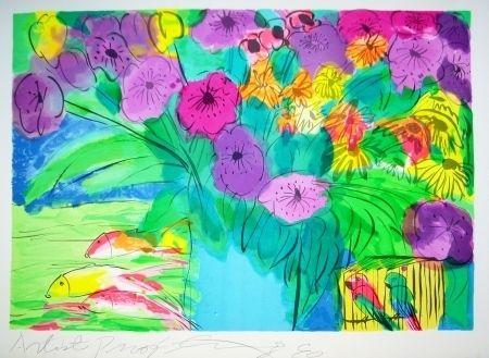 リトグラフ Ting - Flowers 1