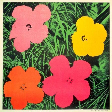 リトグラフ Warhol - Flowers 1964