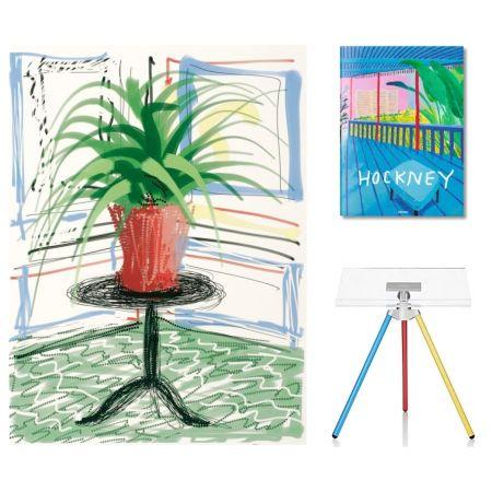 多数の Hockney - Flowers, C with SUMO book