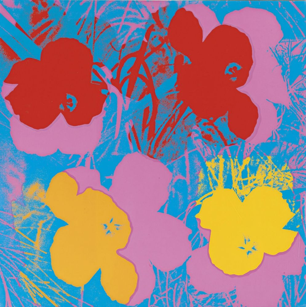 シルクスクリーン Warhol - Flowers (FS II.66)