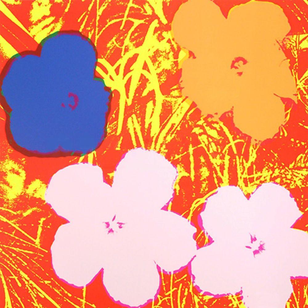 シルクスクリーン Warhol - Flowers (FS II.69)