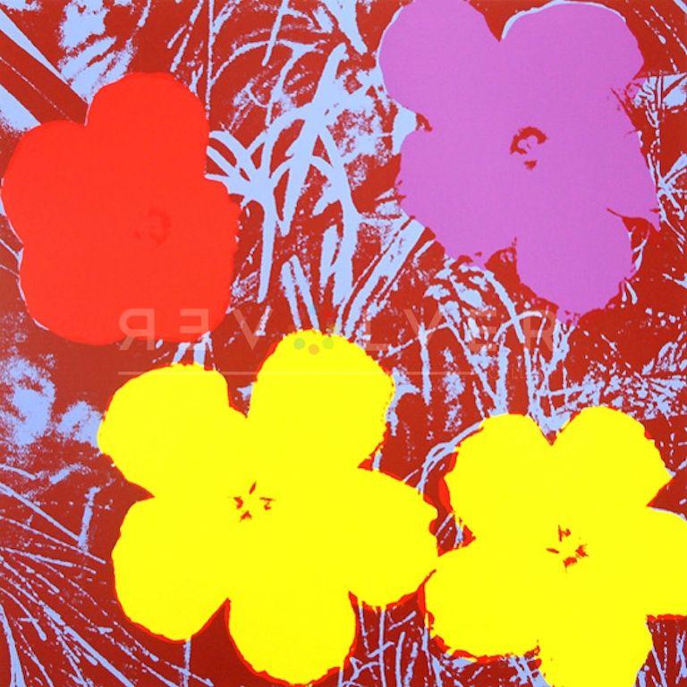 シルクスクリーン Warhol - Flowers (FS II.71)