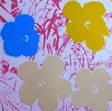シルクスクリーン Warhol (After) - Flowers II