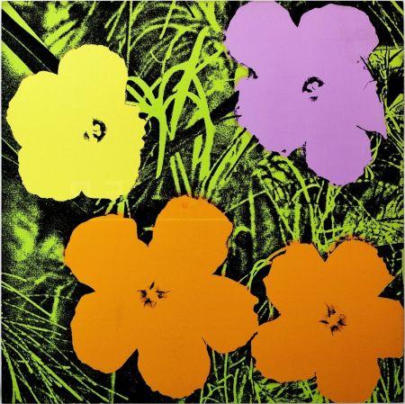 シルクスクリーン Warhol - Flowers(Fs Ii.67)