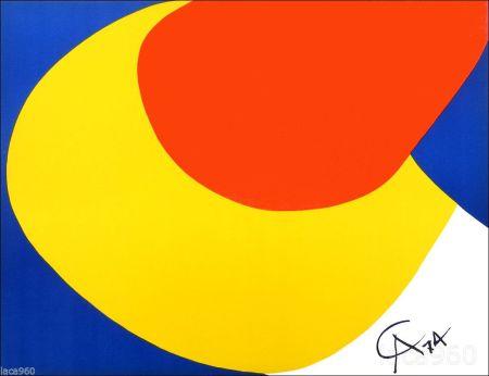リトグラフ Calder - Flying Colors I
