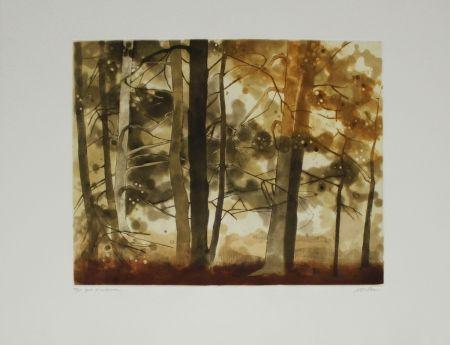 エッチングと アクチアント Walker - Forêt d'automne / Autumn Forest