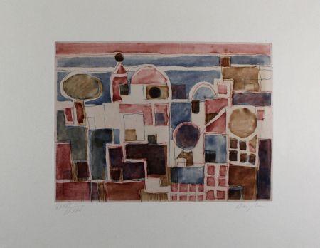 エッチングと アクチアント Bargheer - Forio d'Ischia