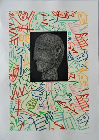 木版 Paladino - Forme e figure