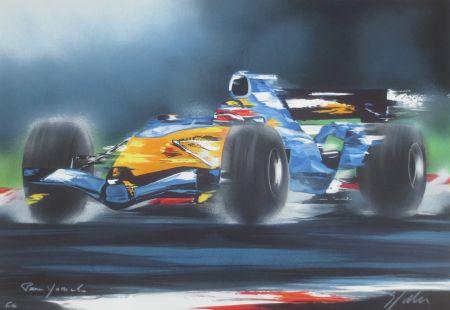 リトグラフ Spahn - Formule I