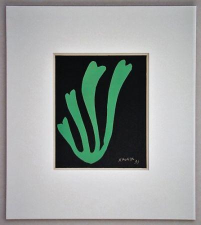リトグラフ Matisse - Fougère - 1953