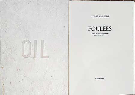 挿絵入り本 Plensa - Foulées