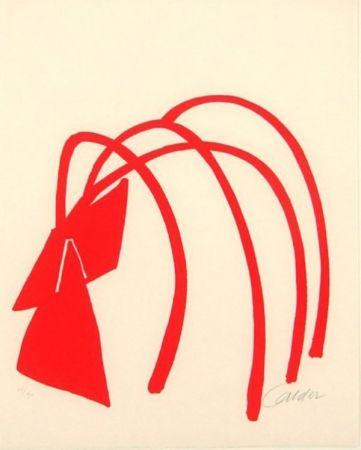 リトグラフ Calder - Four Arches