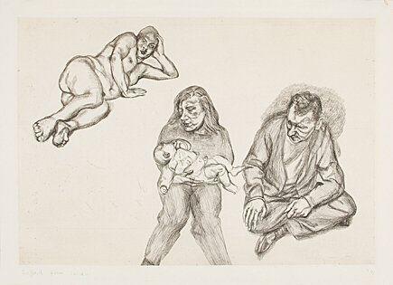 彫版 Freud - Four Figures (Vier Figuren)