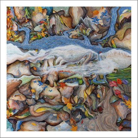 シルクスクリーン Fryer - Four Seasons
