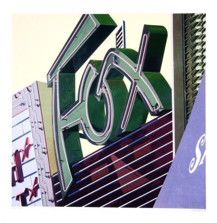 シルクスクリーン Cottingham - Fox