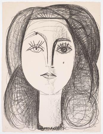リトグラフ Picasso - Françoise 1946