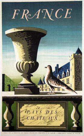 リトグラフ Picard Ledoux - France Pays de Chateaux