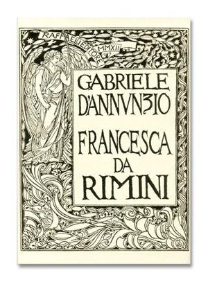 挿絵入り本 Carolis (De) - Francesca da Rimini