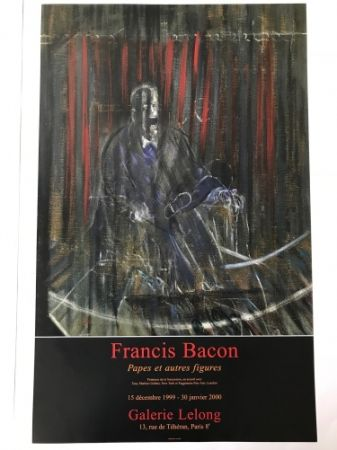 掲示 Bacon - Francis Bacon - Galerie Lelong Exhibition Poster - Screaming Pope