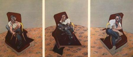 リトグラフ Bacon - Francis Bacon - Portrait Of Lucien Freud 1966